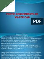 Conocimiento de Watercad