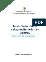 Monografía Vigotsky aprendizaje
