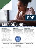 MBA Online Flyer 2