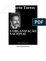 Alberto Torres - Organização Nacional