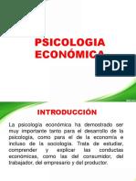 PSICOLOGÍA ECONÓMICA