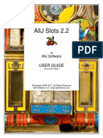 AllJ Slots 2.2 User Guide DIY Homemade Slot Machine