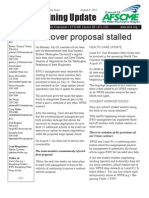 EWU Bargaining Update - July 26, 2010