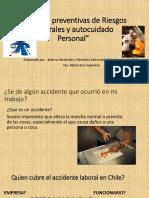 Medidas Preventivas de Riesgos Laborales y Autocuidado Personal
