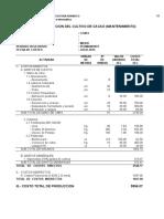 Costo de Produccion Quinua