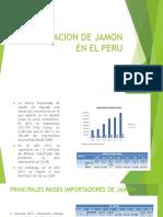 Importacion y Exportacion de Jamon en El Peru