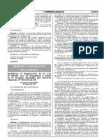 DS 006-2014 Modifica El Reglamento de La Ley 29783 Ley de Seguridady Salud en El Trabajo