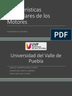 Características Particulares de Los Motores