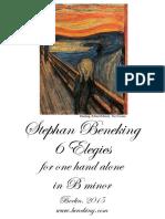 Beneking - Booklet - 6 Elegies for One Hand Alone in B Minor