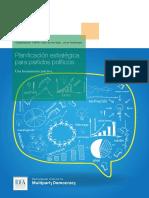 Planificacion Estrategica Para Partidos Politicos Caspar F. van den Berg