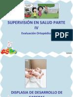 Supervisión en Salud IV. Ev. Ortopédica