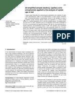 Analisis Toxicologico Cabello