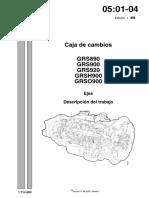 CAJA DE CAMBIOS GRS 900 SCANIA