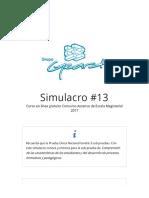 Simulacro #13 - Curso en línea gratuito Concurso Ascenso de Esc.pdf
