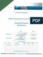 DM-STD-PE-25 Control de Proyectos v0