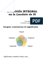 Ecologia Integral en La Laudato Si