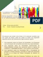Las Empresas Familiares 2016 - Derecho Comercial II (Sociedades i)