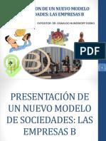Un Nuevo Modelo de Sociedades- Las Empresas b - Derecho Comercial II (Sociedades i)