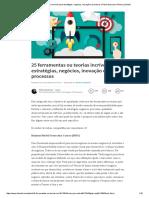 25 Ferramentas Ou Teorias Incríveis Para Estratégias, Negócios, Inovação e Processos _ Flavia Gamonar _ Pulse _ LinkedIn