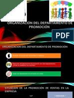 Organizacion Del Departamento de Promocion
