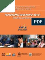 04. Proyecto Regional de Indicadores Educativos. Panorama educativo (2010).pdf