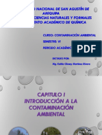 Introducion a La Contaminacion Ambiental