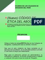 ÉTICA PROFESIONAL  - Código Etica de los Abogados.2