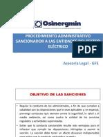 Procedimiento Administrativo Sancionador_osinergmin