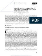 Determinants of Silver Futures Price Thailand Must Read