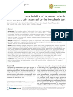 Psychological characteristics of Japanese patients chornic pain.pdf