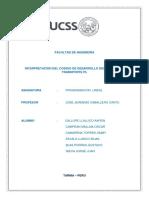 Informe de La Interpretacion de Los Codigos en Matlab