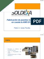 Fabricación de Puentes Tomando en Cuenta La AWS D1.5 Rev 2 (1)
