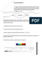 Estructura Anatómica de Los Rayos x