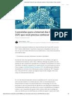 5 Previsões Para a Internet Das Coisas (IoT) Que Você Precisa Conhecer _ Fabio Di Santoro _ Pulse _ LinkedIn