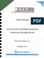 Manuales Terman, Cleaver, 16fp y Grafología