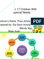 CHARACTERISTICS OF CHILDREN WITH SPECIAL NEEDS - Copy.pptx