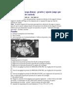 Valvula de Linea Prueba y Ajuste 2