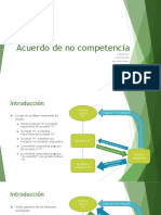 DERECHO TRIBUTARIO II - Caso Acuerdo de No Competencia
