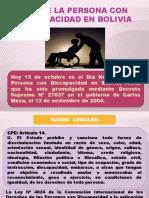 Día de la persona con discapacidad en Bolivia.pptx
