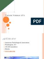 Taller Normas APA 2012PDF