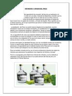 Definición y Origen Del Pisco