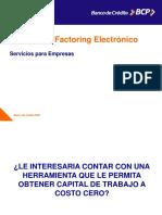 Factoring Electrónico - BCP