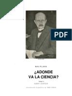 Planck, Max - A dónde va la ciencia.pdf