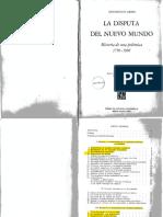 5)Gerbi. La Disputa Del Nuevo Mundo 1750-1900