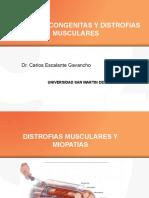 MIOPATIAS CONGENITAS Y DISTROFIAS  MUSCULARES.pptx