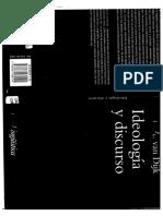 Ideologia y Discurso - Teun Van Dijk