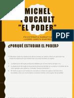 Michel Foucault El Poder