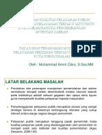 Peningkatan Pelayanan Perizinan Melalui Penerapan Sistem Ptsp ( Pelayanan Periziinan Terpadu Satu Pintu )