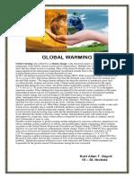 Global Warming (English)