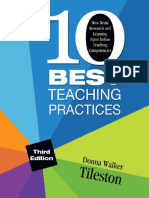 Ten Best Teaching Practices_ How Brain Research and Leefine Teaching Competencies - Donna E. Walker Tileston